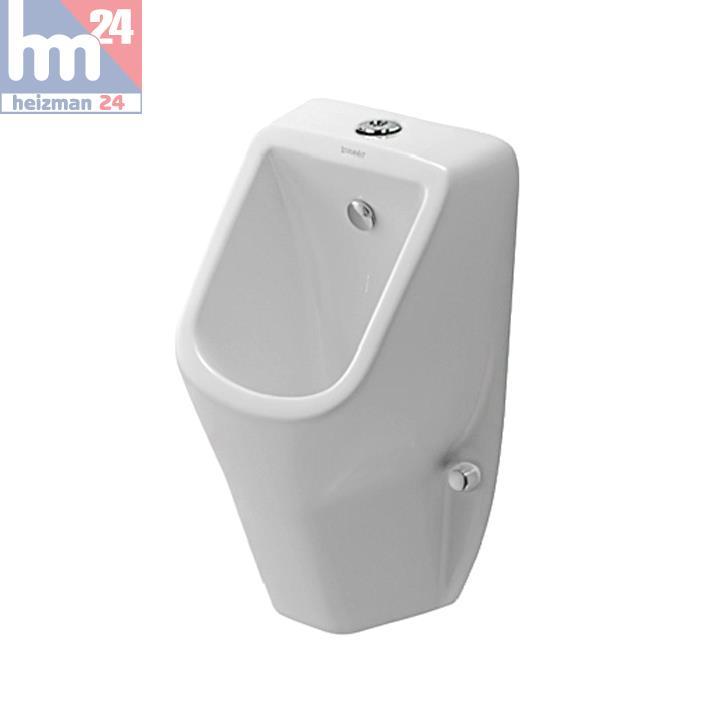 duravit d code urinal 0828300000 sp lrandlos ohne fliege mit zulauf von oben ebay. Black Bedroom Furniture Sets. Home Design Ideas