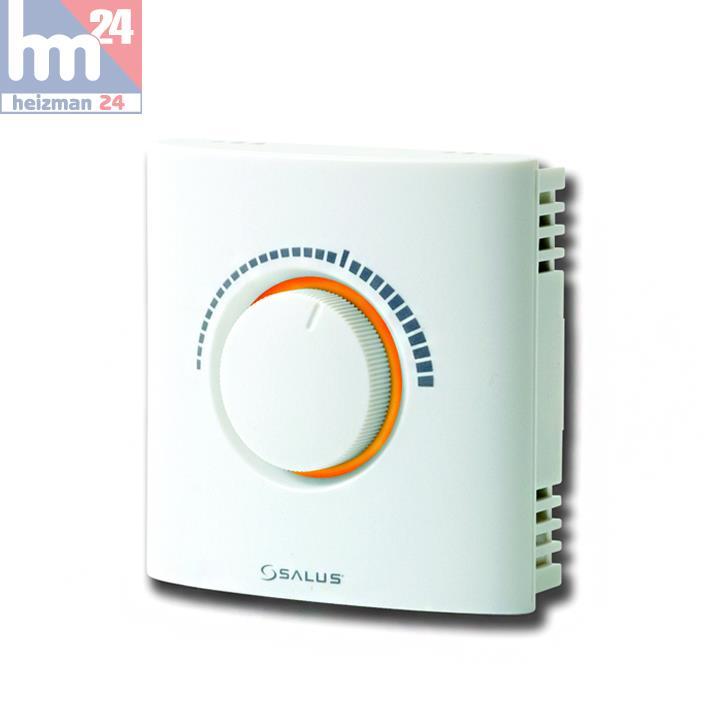 salus thermostat d 39 ambiance lectronique 230 volts ert 20. Black Bedroom Furniture Sets. Home Design Ideas