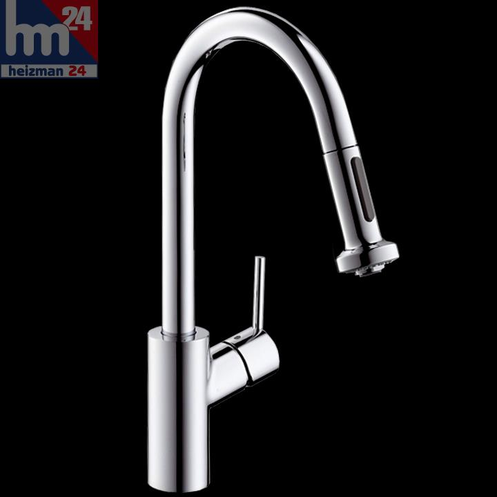hansgrohe talis s 178 variarc single lever kitchen mixer with hansgrohe axor starck higharc azb chrome kitchen faucet