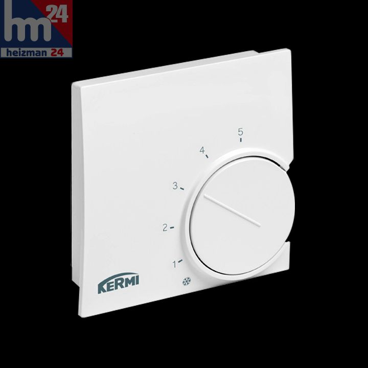 kermi x net electronic room thermostat 230 v sfeer002230. Black Bedroom Furniture Sets. Home Design Ideas