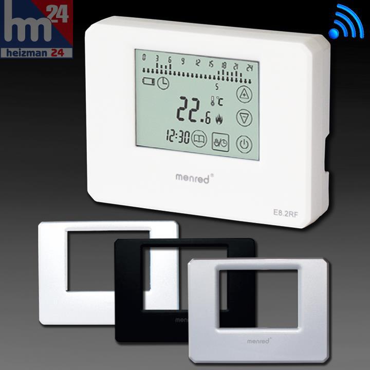 Menred e8 2 digital termostato de ambiente inal mbrico ap - Termostato digital inalambrico ...