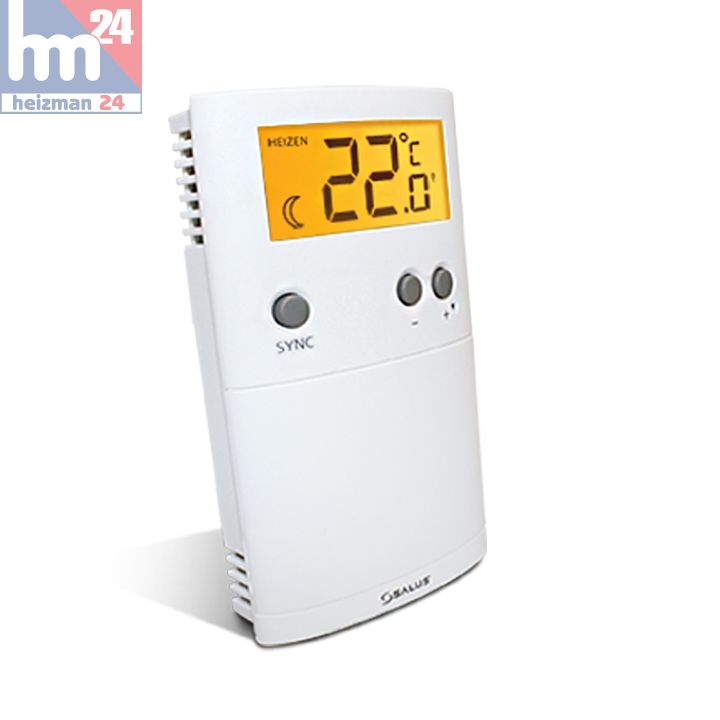 salus ert30rf digitales raumthermostat funk 112223 mit zigbee technologie 2 4ghz ebay. Black Bedroom Furniture Sets. Home Design Ideas