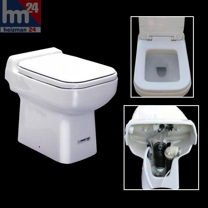 sfa sanicompact luxe keramik wc mit hebeanlage 230 volt inkl wc sitz 0004 ebay. Black Bedroom Furniture Sets. Home Design Ideas