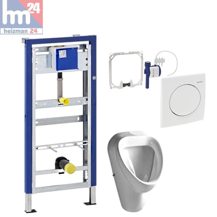 komplett set geberit duofix basic mit urinalsteuerung handausl sung u urinal ebay. Black Bedroom Furniture Sets. Home Design Ideas