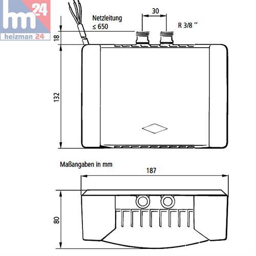clage klein durchlauferhitzer m4 snm 4 4kw 230v 1500 14214 inkl mischbatterie. Black Bedroom Furniture Sets. Home Design Ideas
