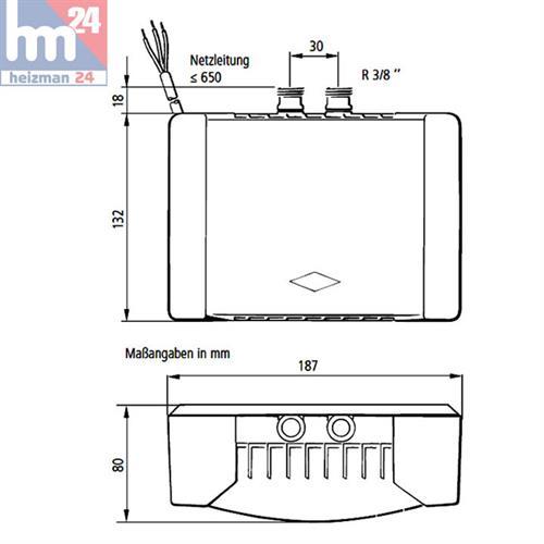 clage klein durchlauferhitzer mbh7 untertisch druckfest 6. Black Bedroom Furniture Sets. Home Design Ideas