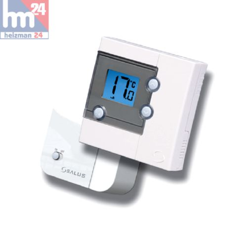 salus rt300rf digitales raumthermostat potentialfrei fu bodenheizung ebay. Black Bedroom Furniture Sets. Home Design Ideas