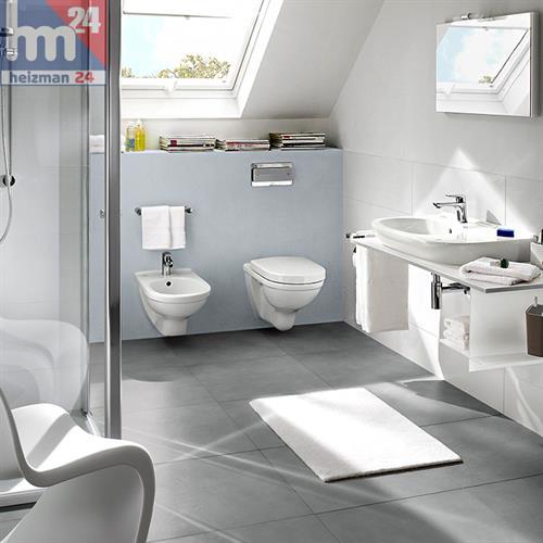 villeroy boch tiefsp l wc incl wc sitz. Black Bedroom Furniture Sets. Home Design Ideas