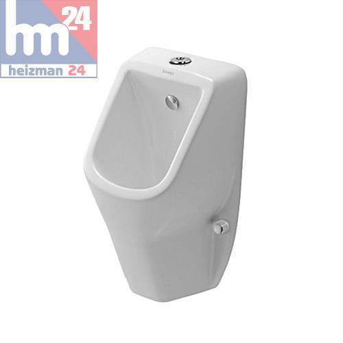 duravit d code urinal 0828300000 sp lrandlos ohne fliege mit zulauf von oben 4021534392214 ebay. Black Bedroom Furniture Sets. Home Design Ideas