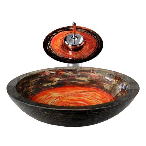 Eyjafjallaj kull aufsatzwaschbecken glas waschsch ssel for Armatur aufsatzwaschbecken