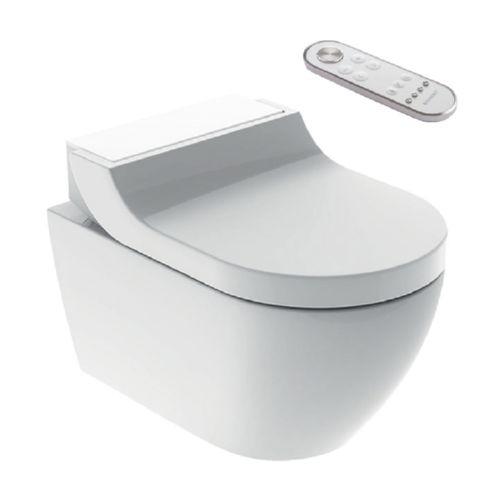 geberit aquaclean tuma comfort dusch wc sp lrandlos glas wei ebay. Black Bedroom Furniture Sets. Home Design Ideas
