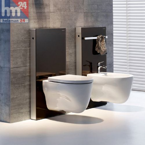 geberit monolith sanit rmodul wand wc bh 101 cm in verschiedenen farbt nen ebay. Black Bedroom Furniture Sets. Home Design Ideas