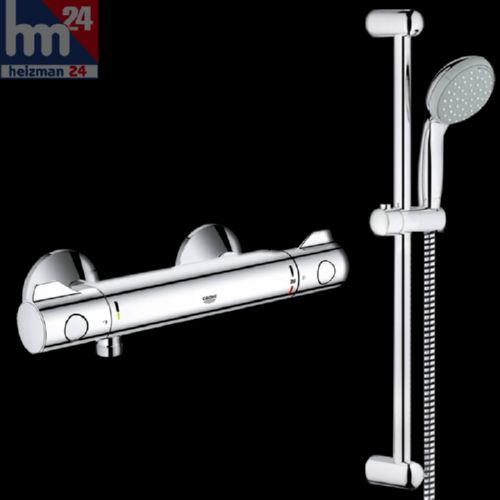 grohe grohtherm 800 mitigeur thermostatique de douche avec garniture p tillante ebay. Black Bedroom Furniture Sets. Home Design Ideas