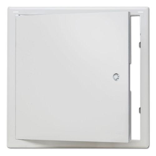 Revisionsklappe Revisionstür Weiß Softline mit Vierkantverschluss 600x600mm