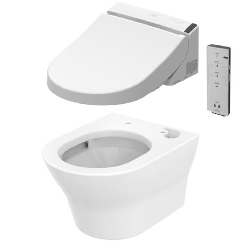 toto mh wandtiefsp l wc cw162yh sp lrandlos inkl washlet. Black Bedroom Furniture Sets. Home Design Ideas